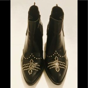 H&M Chelsea Special Edition Studded Leather Boots